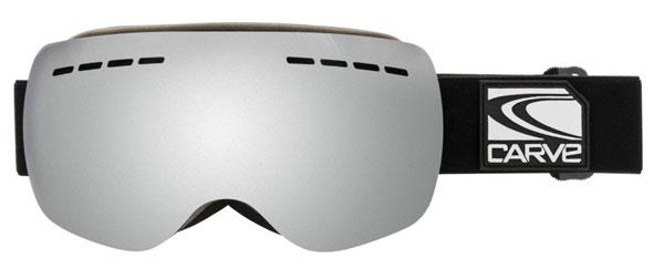 Carve titanium goggles