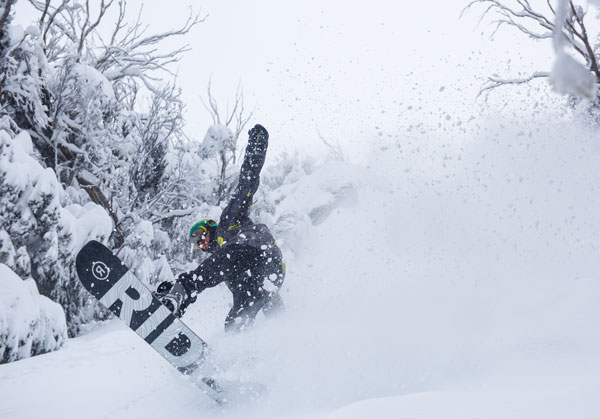 Cam Bolton charging at Buller