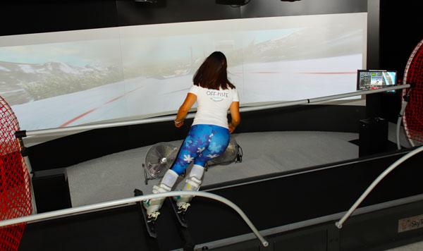 Offpiste simulators cater for all levels