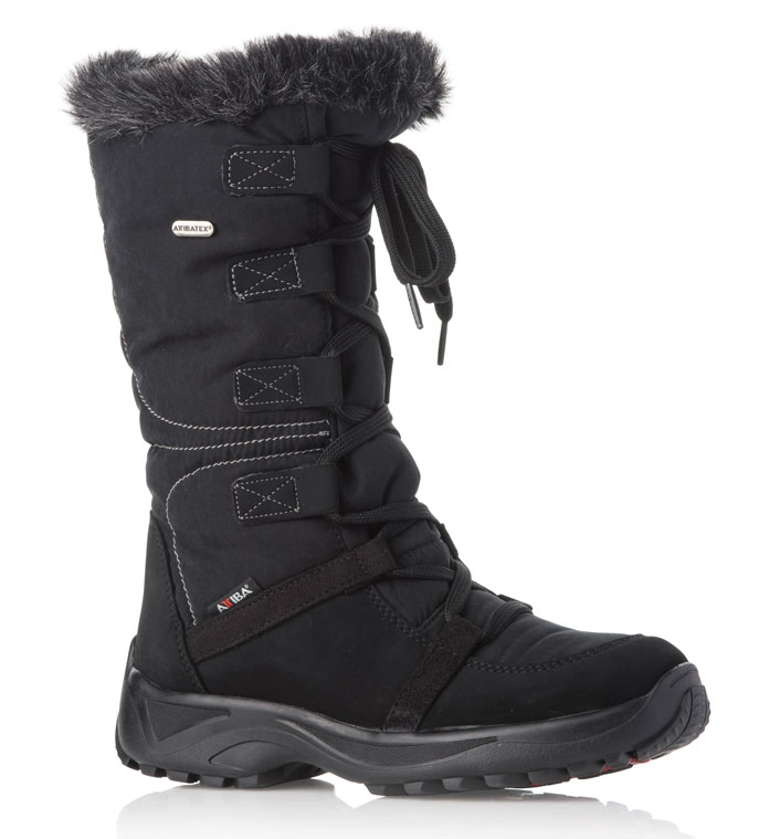 Attiba aprés boots feature Italian style as well as unmatched safety