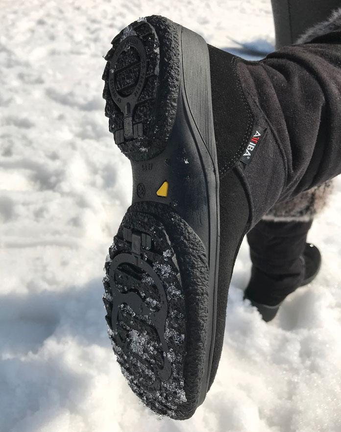 Attiba aprés boots rotor rampons in soles