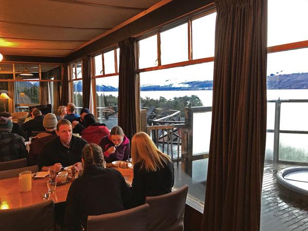 Breakfast with a view Ohau Lodge