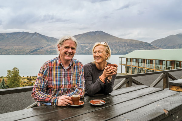 Ohau owners Mike and Louise Neilson