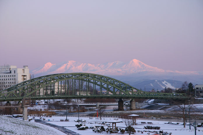 Winter view Asahikawa City