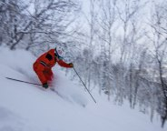 powder skiing Sahoro Resort