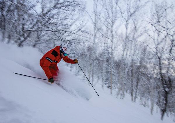 powder skiing Sahoro Resort
