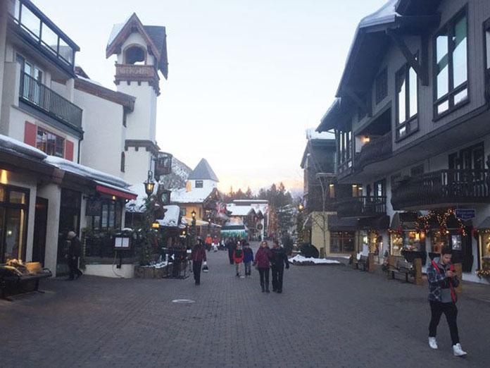Vail Village scene