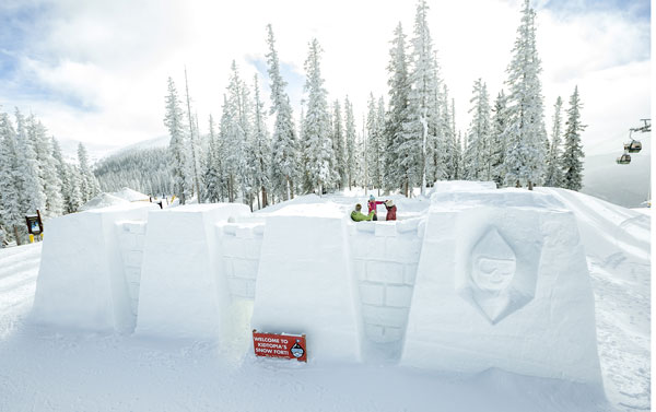 Snow Fort at Keystone Kidtopia