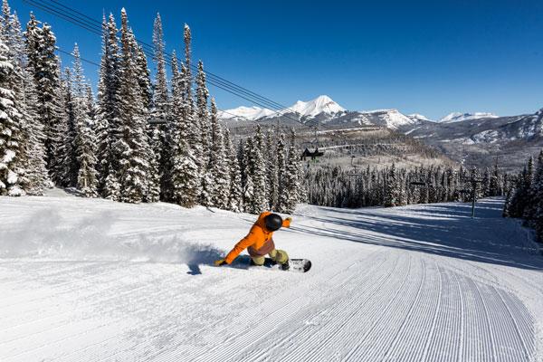 Snowboarding Purgatory Resort