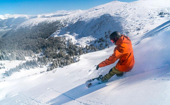 Snowboarding Winter Park