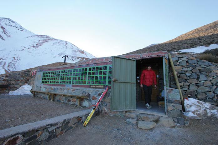 Ski Arpa base lodge