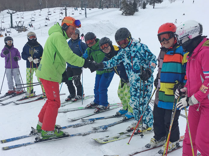 Action Snow Sports Madarao Kids Group lesson