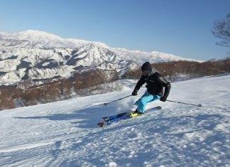 Kwngo Nogami skiing Ishiuchi Maruyama