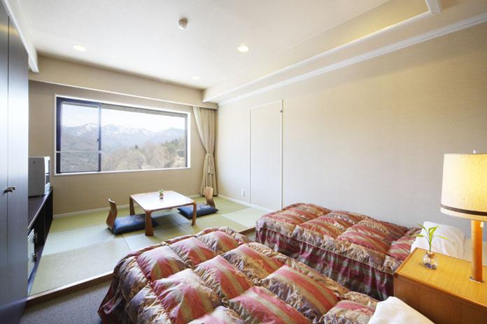 Oze Iwakura Resort Hotel Japanese/Western combination room