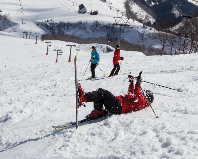 spring skiing at Iwappara Yuzawa