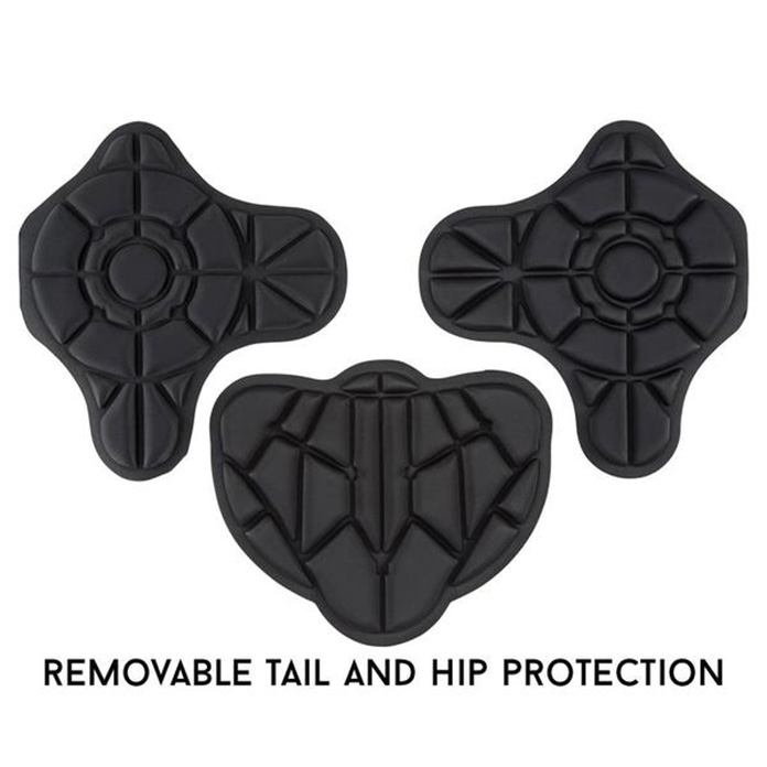 Drífa hip and tail snow protection pads view