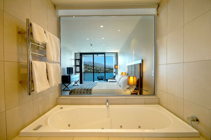Spa suites boast superb views at The Rees Hotel Queenstown
