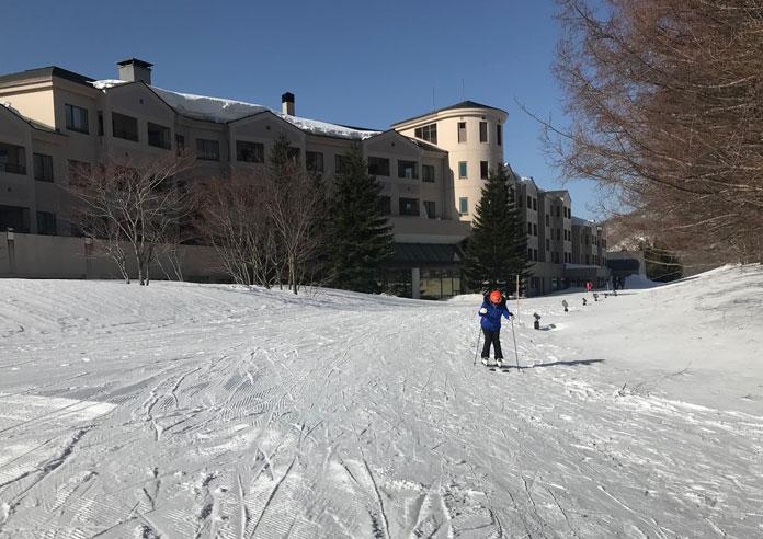 Ski in ski out from Grandeco Tokyu Resort in the Aizu Region