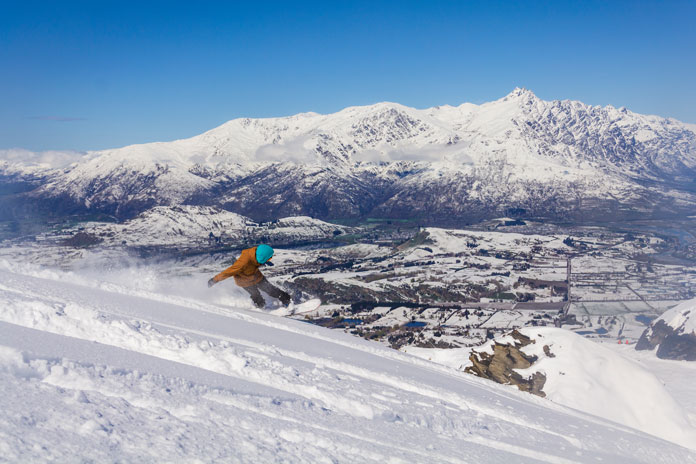 Coronet Peak is the closest ski resort to Queenstown