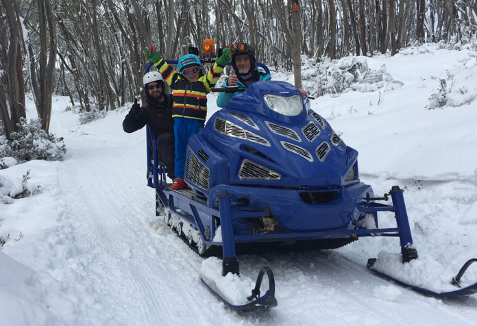The Sherpa Ride at Baw Baw