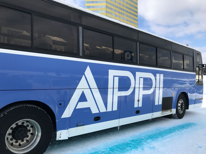 Hop on the Appi bus direct from Morioka shinkansen station