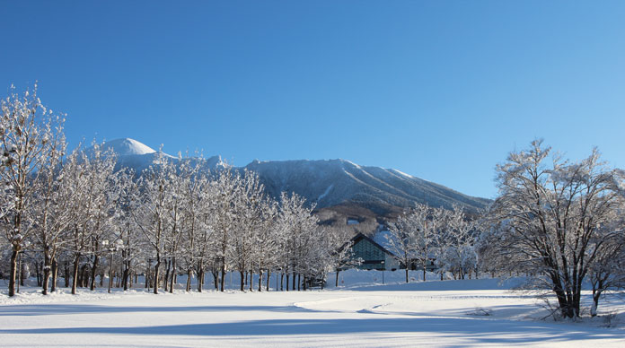 Hachimantai Resort Hotel & Spa is a secluded 5 star ski in/ski out gem in Iwate you can discover on a JR East Pass ski trip