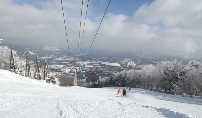 Appi is one of the best options for a JR East Pass ski trip