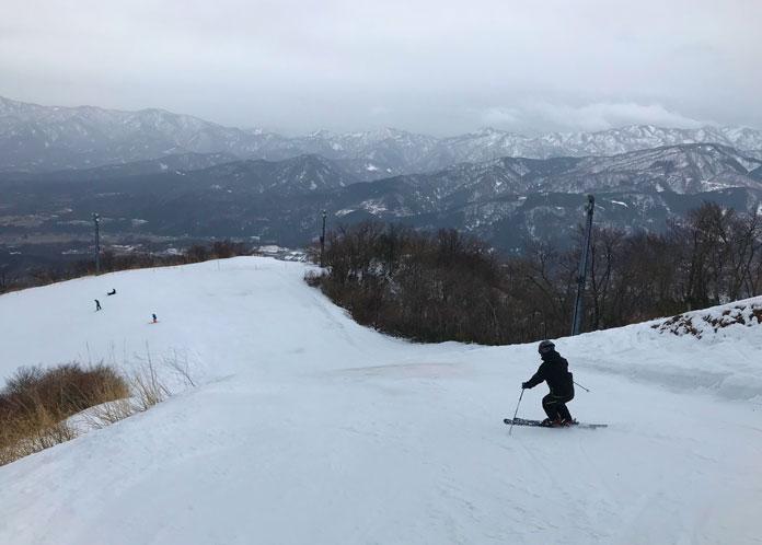 Skiing Iox-Arosa, Nanto City, Toyama