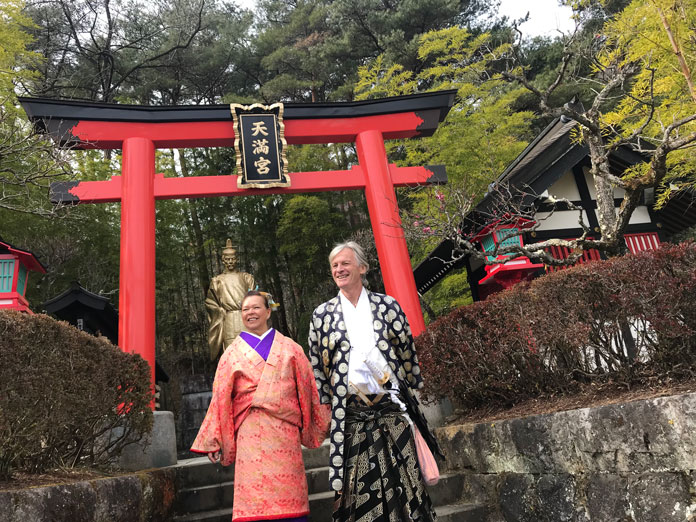 Edo Wonderland Nikko Samurai Lord and Lady