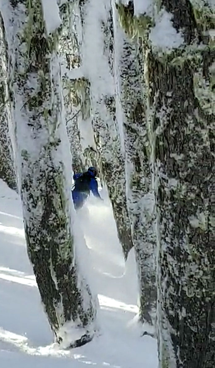 Southern Hemisphere's best tree skiing, Cerro Catedral Argentina