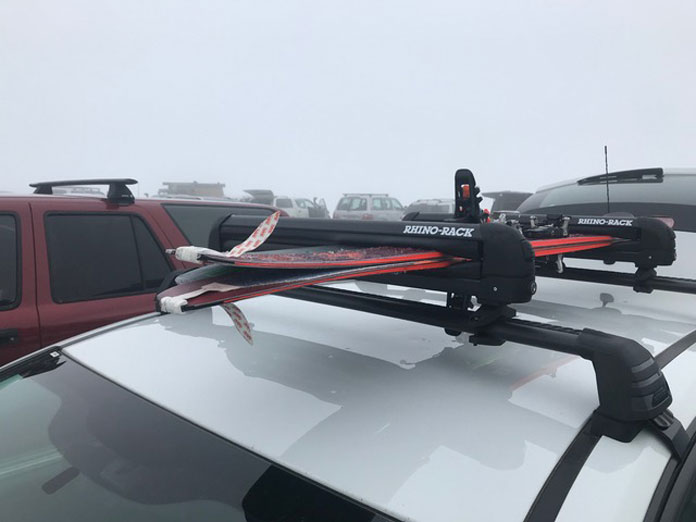 Rhino Ski and Snowboard Carriers at Guthega