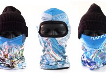 Ski Trail Map balaclavas and neck warmers