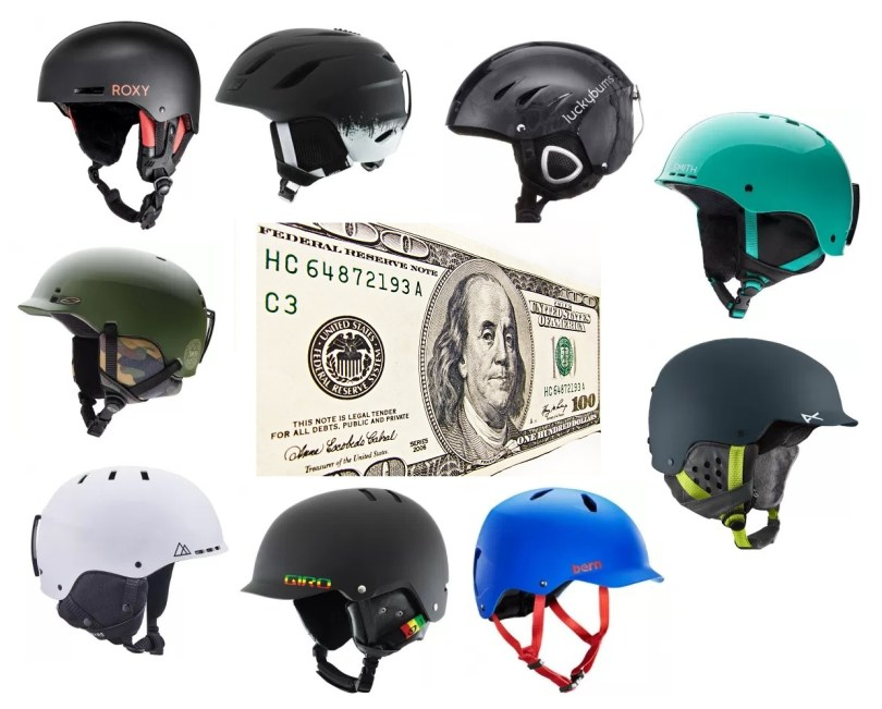 We review the best snow helmets under $100 bucks