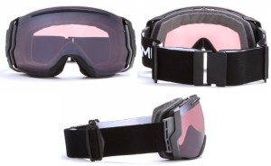 An overview of the angles of the smith i/o 7 snow goggles