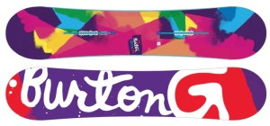 An awesome snowboard for starters