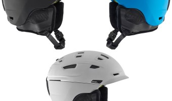 Here's our review of the Anon Prime snow helmet