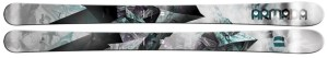 For intermediate to advanced women, these skis are great