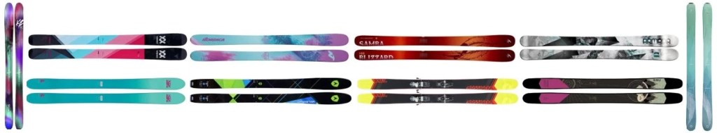 We review the best women's skis