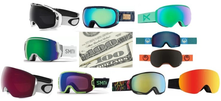We review the best snow goggles under 200 dollars