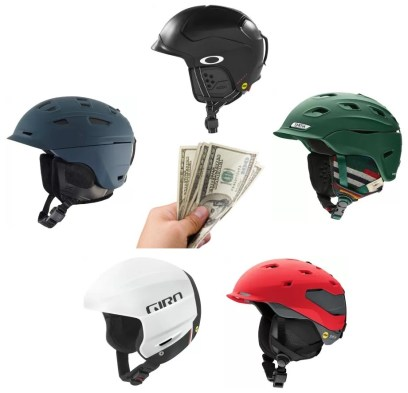 We review a few of our favorite snow helmets for 300 dollars or less