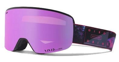 A larger look at the Giro Ella goggles