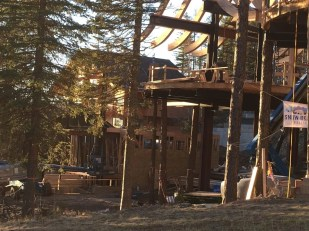 The balcony of Tamarack with the lower level of Cedar beyond that, 11/11