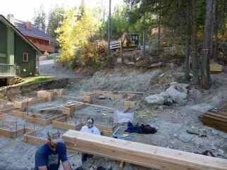 The beginnings of Cedar Chalet