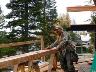Guess what, Doug is doing more framing!