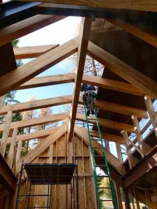 Tamarack is getting a roof!
