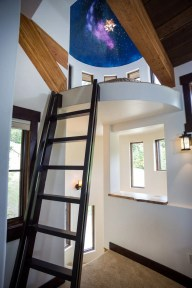 Ponderosa - Turret Ladder (Turret railing coming soon!)