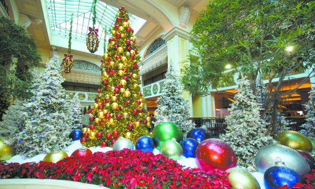 Make merry at the Beau Rivage