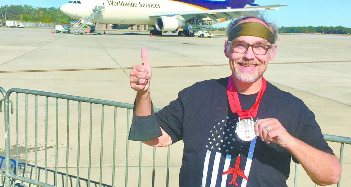 Running for health helps beat the pandemic blues