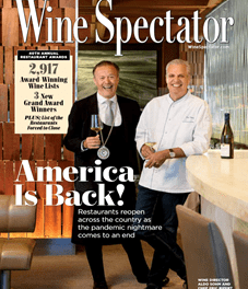 THREE BEAU RIVAGE RESTAURANTS WIN WINE SPECTATOR AWARDS OF EXCELLENCE