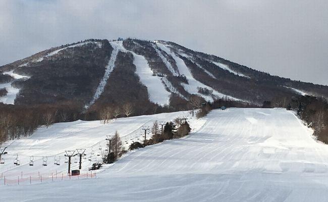 安比高原スキー場 ピーカン